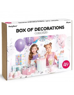 PARTY DECORATIONS SET -...