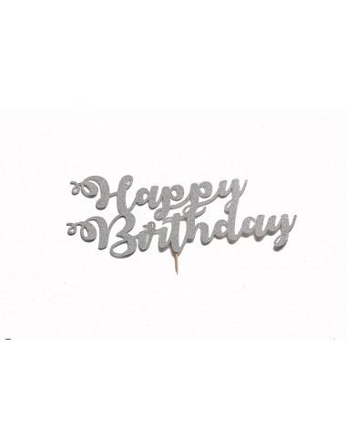 Happy Birthday – cake topper