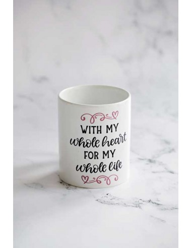 With my Whole Heart - Mug