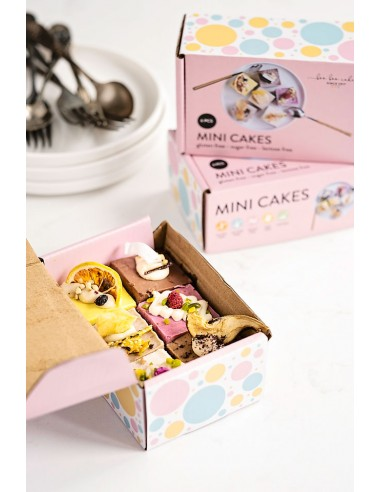 Minis Box Vegan Cakes Gluten Free Cakes Brussels Cake delivery